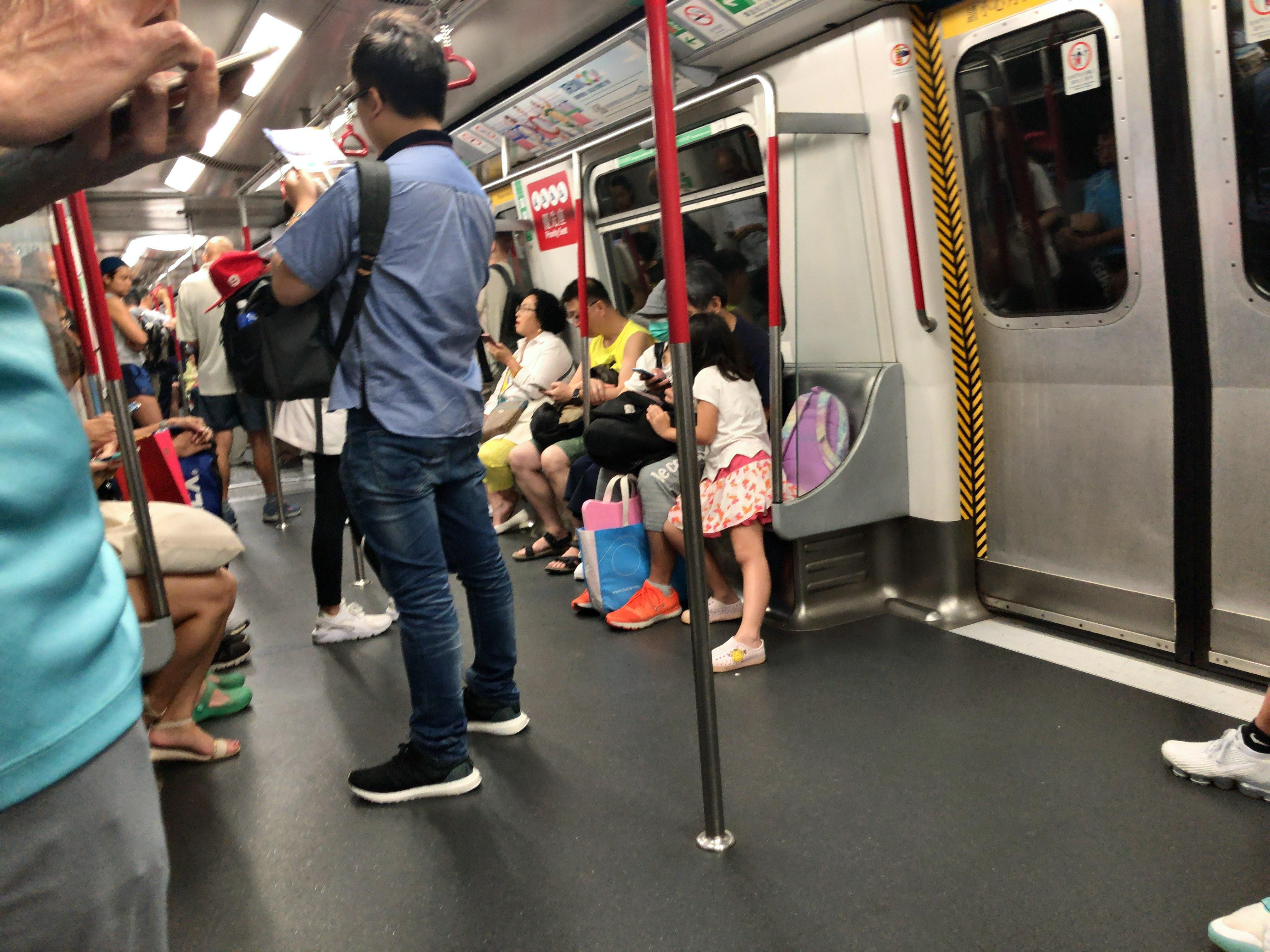 香港旅行2019(MTRで移動)