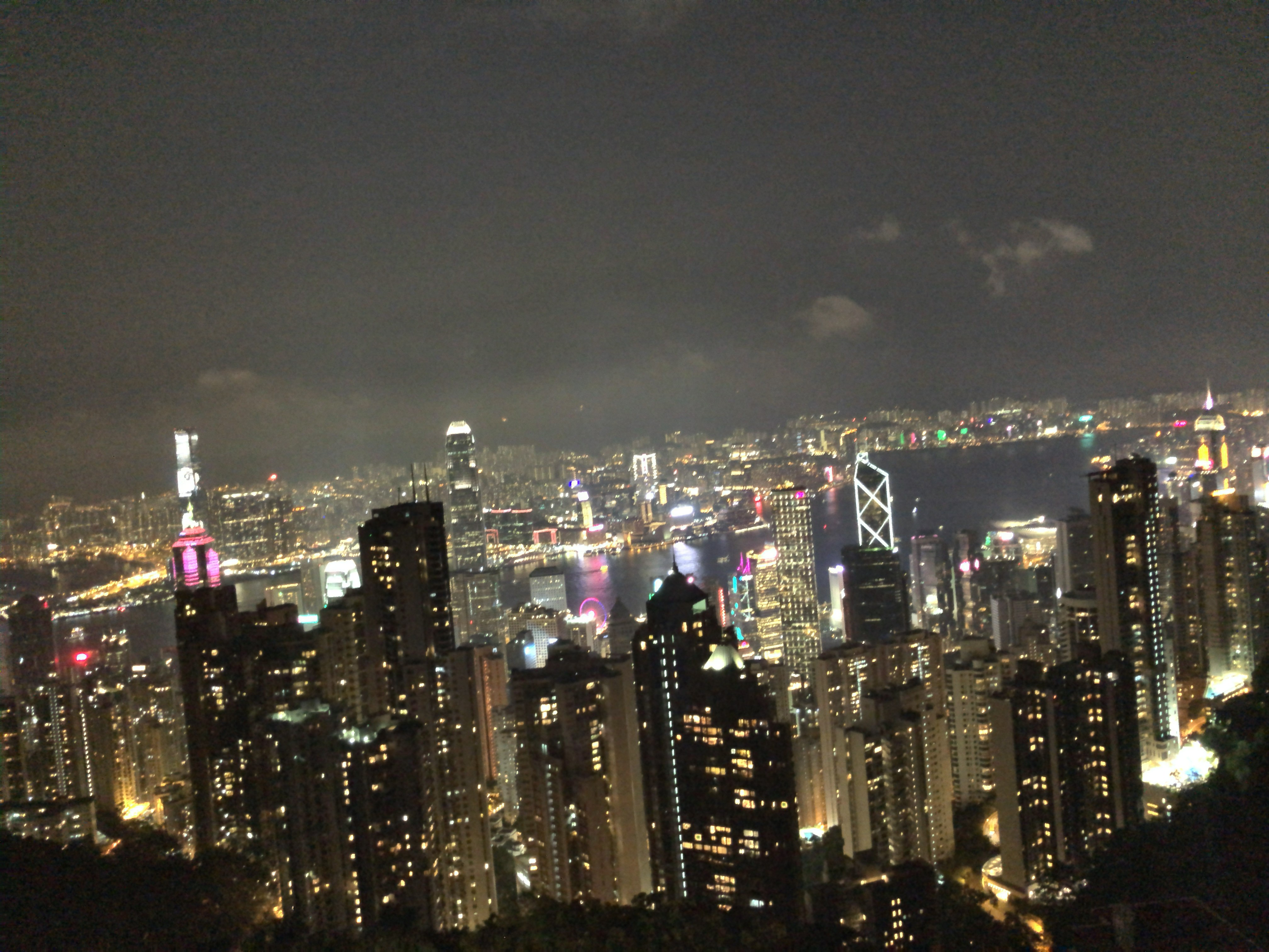 香港旅行2019(100万ドルの夜景)